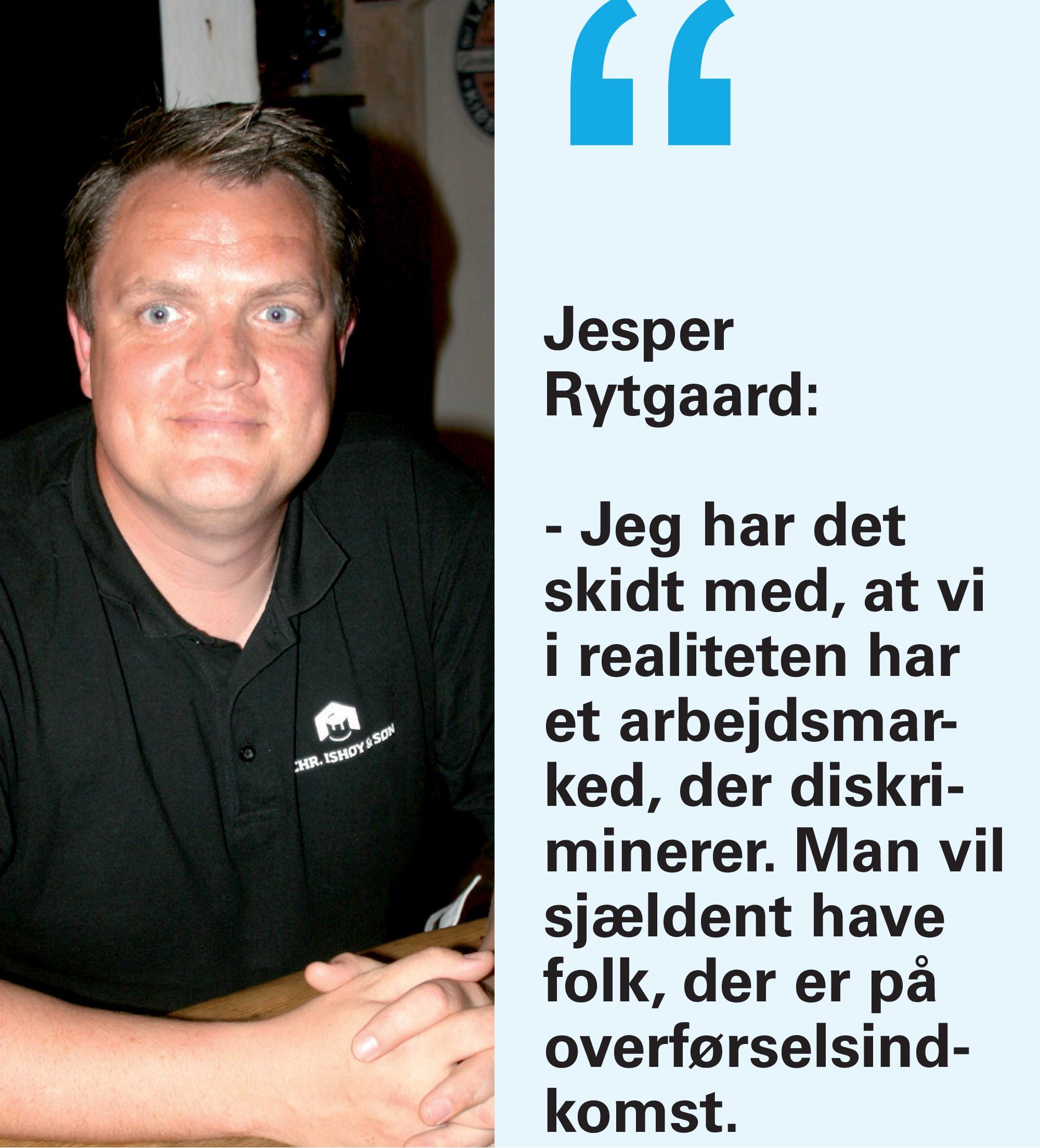 Malermester Jesper Rytgaard som Ugens gæst i Køge Onsdag